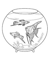 Small Picture 99 ideas Coloring Pages Fish Bowl on kankanwzcom
