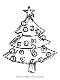 Small Picture Coloring Pages Christmas Tree Shape Coloring Page Free Coloring