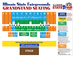 Grandstand Iowa State Fair Seating Chart Duquoin State Fair Grandstand Seating Chart