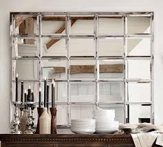 eagan 45x55 pottery barn beveled mirror