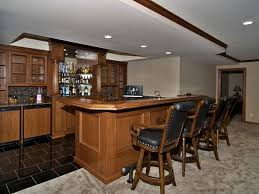Simple Basement Wet Bar