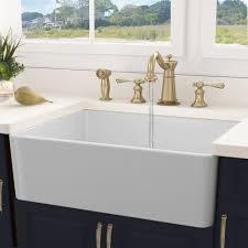 Nantucket Sinks Cape 30 L X 18 W Farmhouse Kitchen Sink With