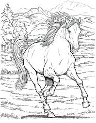 horse coloring pages printable spirit horse coloring pages printable