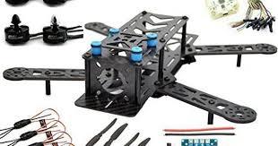 LHI 250mm Pro Pure Carbon Fiber Quadcopter Frame Kit + CC3D ...