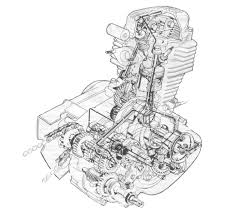 honda cg125 engine diagram honda wiring diagrams