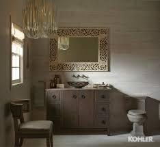 Travertine Bathroom Smoky Travertine Bathroom Kohler