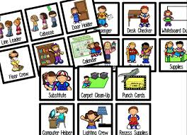 First Grade Job Chart Job Chart Giveaway Freebie First Grade Fancy First