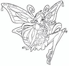 Small Picture Winx club coloring pages bloom enchantix ColoringStar
