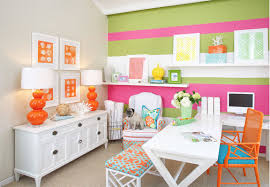 Small Picture Hamptons Decor The Preppy Glam Home Office Midtown Girl