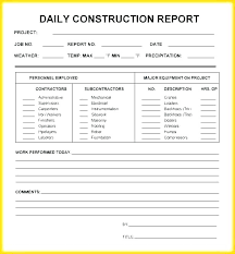 Weekly Performance Report Template