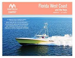 Florida West Coast And The Keys Chart Book Maptech Chartkit Book W Companion Cd