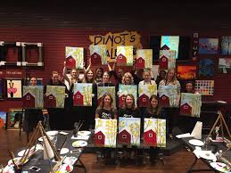 painting at pinot s palette ridgewood nj the contemporary club