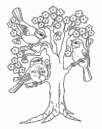 Awesome Coloring Pages For Spring Gallery Professional Resume