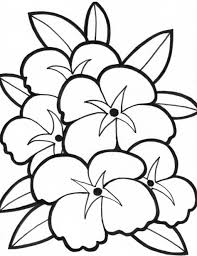 Small Picture Coloring Pages Simple Flower Coloring Pages Coloring Flowers