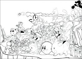 Super Mario Odyssey Coloring Pages Bowser Colouring Sheets Bros New