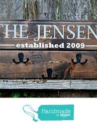 Personalized Coat Racks Classy 32 Images About Welcome Home Coat Rack On Pinterest Rustic Wood
