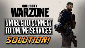 call of duty warzone unable to access