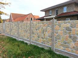 Willkommen Sichtschutzzaun Beton