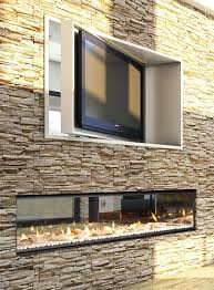 Double Sided Electric Fireplace On CustomFireplace Quality Double Sided Electric Fireplace