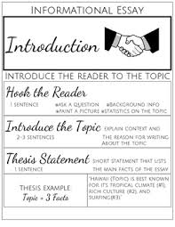 informational essay formatting handout and posters by ela student  informational essay formatting handout and posters