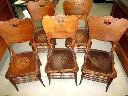 used oak dining chairs beautiful vine oak dining chair dining room chairs used vine