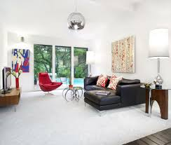 white living room rug. White Living Room Carpet Of Red Chair Black Leather Furniture Rug O