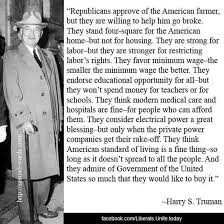 Harry Truman Quotes Impressive Harry Truman Quote About Republicans Plus Ca Change