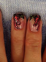 Browning Symbol Nail Designs Camo Nails With Glitter And Pink Browning Symbol 1 Camo