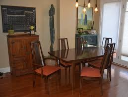 Broyhill Dining Room Table Mid Century Modern Broyhill Dining Set Bs Refurnishings