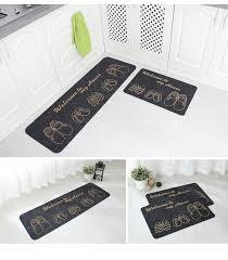 40x60 40x120cm set anti slip kitchen mat absorb water bathroom carpet home entrance doormat area
