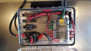 wiring an aux fuse block, relays and switches in a 2016 tacoma world how to wire an accessory fuse box at To Install Auxiliary Fuse Box Diagram