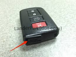 Replacing the Battery in Your Toyota Highlander Smart Key