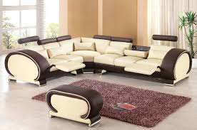 leather sofa set for living room designer modern top graded cow recliner leather sofa set living