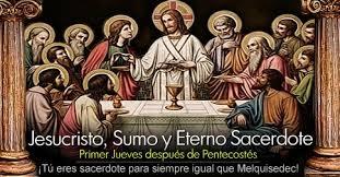 Image result for jesucristo sumo y eterno sacerdote, imagenes