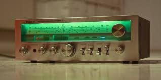 vintage sony receiver. Изображение vintage sony receiver n