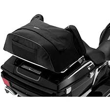Motorcycle Luggage Rack Bag Classy Amazon Kuryakyn 32 Deluxe Convertible Black Luggage Rack Bag