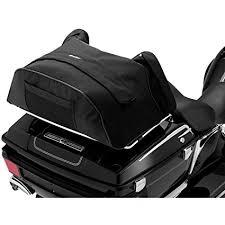 Motorcycle Luggage Rack Bag Classy Amazon Kuryakyn 32 Deluxe Convertible Black Luggage Rack Bag