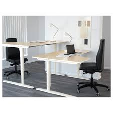 Ikea Table Office IKEA BEKANT Corner Desk Right Sitstand Ikea Table Office