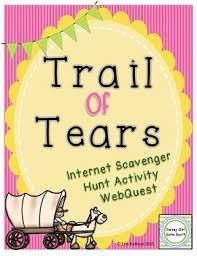 Bookunitsteacher Com Indians Navigation Native American Chart Htm Trail Of Tears Internet Scavenger Hunt Activity Webquest