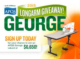 APQS George Giveaway | I <3 Quilting | Pinterest | Quilting and ... & The Great APQS Longarm Giveaway Have you dreamed of owning an APQS longarm quilting  machine? Here's your chance! APQS is giving away a George longarm ... Adamdwight.com