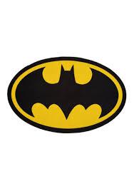 batman logo 2 6 x 4 area rug
