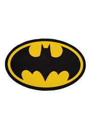 batman logo 2 6 x 4 area rug
