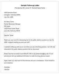 Sample Follow Up Email After Interview Status Collection Of