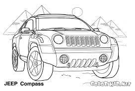Disegni Da Colorare Jeep Compass