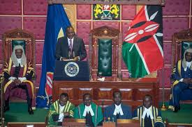 But what be some of de key things wey de leader of di west african nation go like talk about in en address? Uhuru Kenyatta S 2019 State Of The Nation Address Most Positive By Herman Wandabwa Towards Data Science