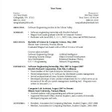 Computer Science Resume Example Interesting Sample Resume For Experienced Lecturer In Computer Science Sample