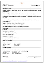 Best Format For Resumes Interesting Best Resumes Format Resume Templates Outline 28 Ifest