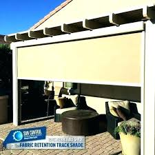 Fabric patio shades Vertical What Erm Csd Patio Shade Cloth With Grommets Sunscreen Fabric Modern Outdoor