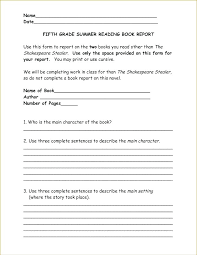 Book Report Templates Projects Posters Reports Fiction Non