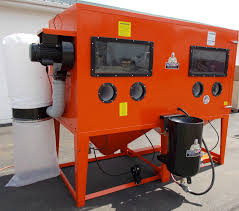 Abrasive Blasting Cabinet Pressure Blast Cabinet Bb 9000xld Bvt Pr